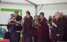Jour J : Grande consécration du stoupa des reliques de Shamar Rinpoché photo © Christian Rohn