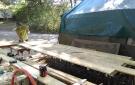 Réalisation des coffrages et ferraillages de l'enceinte extérieure