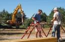 Installation d'un poste de ferraillage