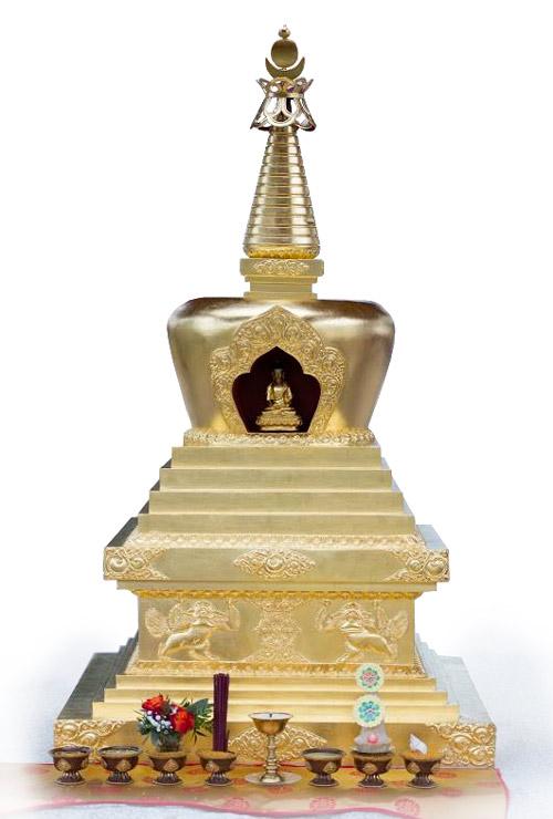stupa-shamarpa