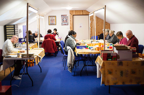 Les ateliers de mantras à Kundreul Ling