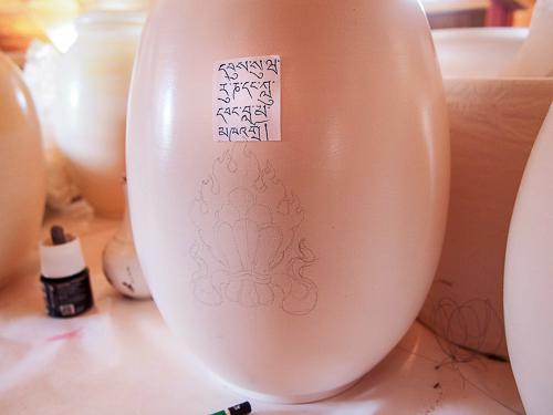 Bumpas en cerámica