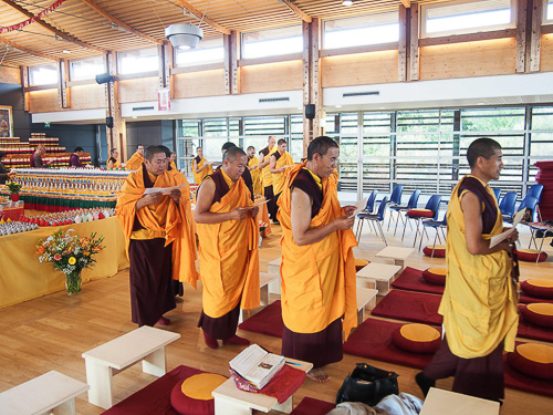 La communauté monastique