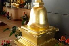 Le stoupa du parinirvana dans l'Institut