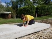 Le chantier pour les 8 stoupas a commencé !