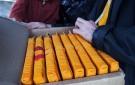 Insertion du Kangyur, les 102 volumes des paroles du Bouddha