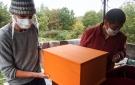 Vêtements de Shamar Rinpoché