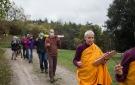 Transporte en procesión del sokshing