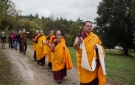 Transport en processions du sokshing