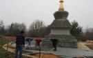 ¡Los trabajos de acondicionamiento alrededor de la estupa han comenzado!