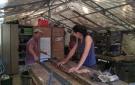 Corte y moldeado de las barras