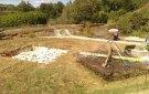 Excavación de los cimientos