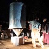 Découverte du moulin en présence de lama Jigmé Rinpoché