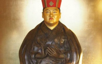 Statue de Shamar Rinpoché