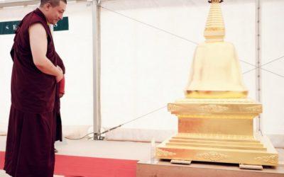 Karmapa – Un jardín para meditar