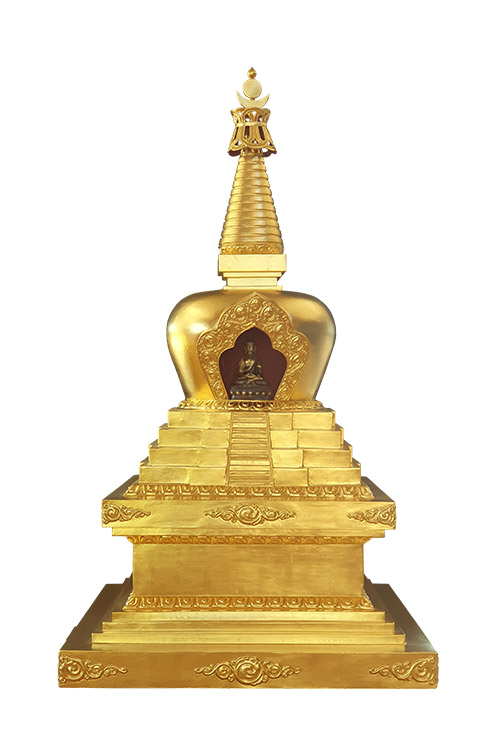 The Stupa of the Descent from the Divine Realms ལྷ་བབ་མཆོད་རྟེན།